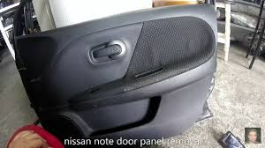 nissan note 2004 u20132013 door panel removal youtube