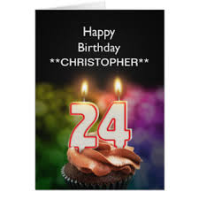 happy 24th birthday cards invitations greeting photo cards