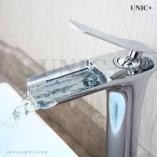 Vessel Sink Waterfall Faucet Waterfall Faucets Waterfall Faucet Frisone Faucet C 3 3