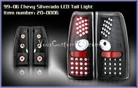2004 chevy silverado led tail lights silverado led taillights