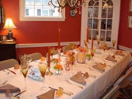 stunning dining table decoration with various thanksgiving