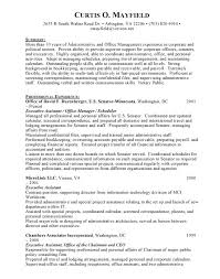 Administrative Assistant Resume Examples by Administrative Resume Senior Executive Assistant Professional Top