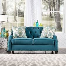 Dark Blue Loveseat The 25 Best Blue Loveseat Ideas On Pinterest Blue Velvet Chairs