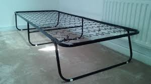 Ikea Folding Bed Ikea Black Metal Single Folding Sylling Bed Frame In Mile End