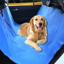 pet seat cover hammock blue 58
