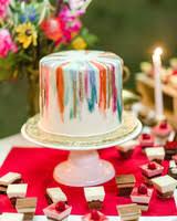 Big Wedding Cakes 52 Small Wedding Cakes With A Big Presence Martha Stewart Weddings