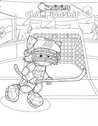 hockey coloring pages oilers murderthestout
