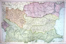 Turkey Greece Map by 25 Print Map Bacon 1911 Turkey Greece Servia Roumania Black Sea