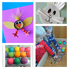 Diy Easter Decorations With Paper by 20 Easter Crafts To Make With Kids Boogie Wipes