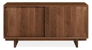 Slide Door Cabinet Anders 56w Sliding Door Media Cabinet