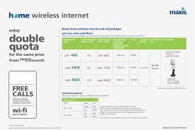 home wireless internet plans maxis doubles home wireless internet quota hardwarezone com my