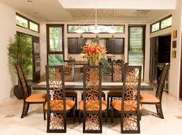 Colonial Dining Room Chairs by Adorable 90 Tropical Dining Room 2017 Decorating Inspiration Of