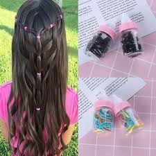 girls hair rings images Colorful girl 39 s fashion elastic rubber band ponytail hair rope jpg