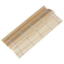 stuoia bamboo roll japanese sushi rolling makisu bamboo mat kitchen