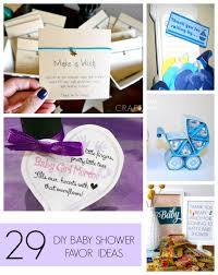 Diy Baby Shower Decor Homemade Baby Shower Favors C R A F T