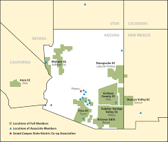 Arizona California Map by About Gcseca Arizona Wyt