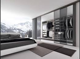 Bedroom With Black Furniture Decorations Fascinating Clear Glass Walk In Closet With Black
