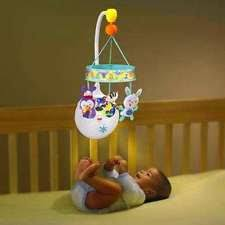 musical crib toy baby einstein neptune motion soother hanging fish