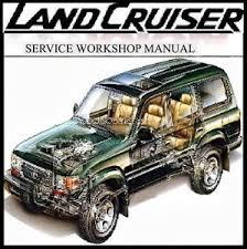 toyota land cruiser 80 series 4wd workshop repair manual cd ebay