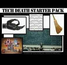 Memes About Death - technical death metal meme starter pack metal pinterest