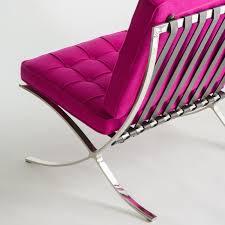 Wool Fabric Barcelona Chair Replica