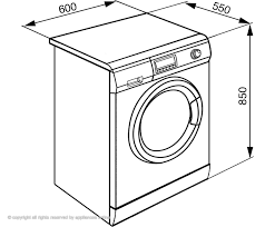 spectacular washing machine dimensions about remodel stunning home