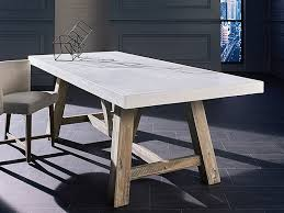 concrete top dining table lovely ideas concrete top dining table impressive design concrete