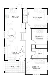 house plans one level small one story modern house plans one story mid century modern