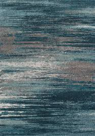 Modern Rugs by Modern Grey Teal Premium Polypropylene Rug Soft And Luxurious