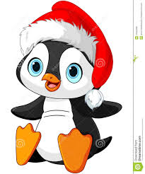 image gallery of cute christmas penguin