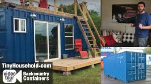 tiny house tour tiny house video tour 3 shipping container home 150 sf austin