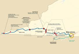 Frontier Route Map by Daniel Boone Wilderness Trail Wilderness Road