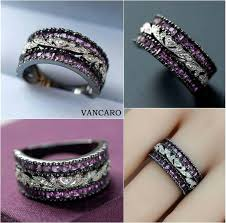 vancaro engagement rings vancaro crown inspired women s black engagement ring engagements