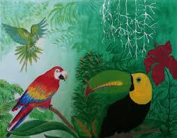 33 best parrott painting images on pinterest parrot poultry and