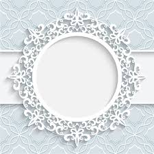 lace ornament paper frame vector 01 welovesolo