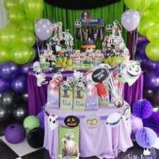 Nightmare Before Christmas Birthday Party Decorations - halloween party ideas for a birthday catch my party