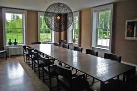Long Dining Room Table Home Design Ideas And Pictures - Extra long dining room table sets