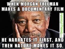 Film Memes - funny memes when morgan freeman makes a documentary film