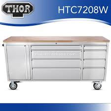 Rolling Tool Chest Work Bench 72 Inch 15 Drawer Stainless Steel Tool Chest For Sale 72 Inch 15
