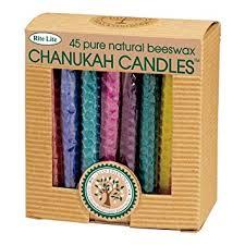 rite lite chanukah candles rite lite judaica festive rolled honeycomb