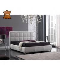 canap molletonn lit adulte cuir blanc molletonné en carrés 3 tailles de couchage