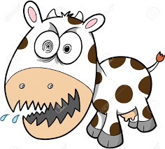 mad cow clipart clipartxtras