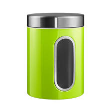 lime green kitchen canisters discover the wesco kitchen storage canister with window lime green