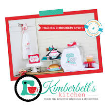 kimberbell kitchen collection at threads edisto threads quilting