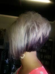 short stacked bob hairstyles front back love the stack in back and was thinking about longer bangs in
