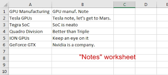 excel how to match sheet tab names to a range in a separate