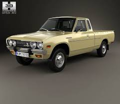 datsun pickup datsun 620 king cab 1977 3d model hum3d