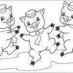 pigs coloring pages preschool net