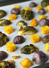Roasted Vegetable Recipes by Simple Onion And Garlic Oven Roasted Vegetables Recipe Whole30
