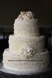 a cake to remember va ruffle wedding cake tutorial cake